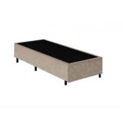 Base Box Solteiro 0.88x1.88 Sued Bege
