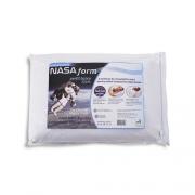 Travesseiro Nasa Form Viscoelástico Perfil Médio 13cm ECO BRASIL