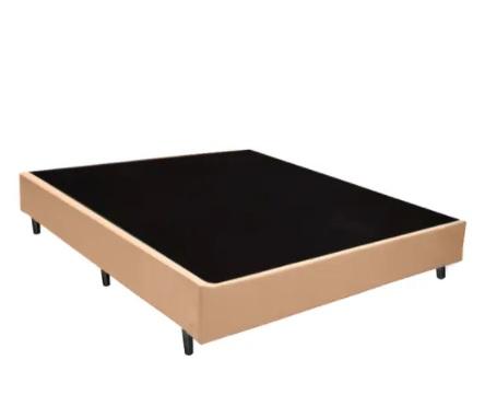 Base Box Casal 1.38x1.88 Corino Bege