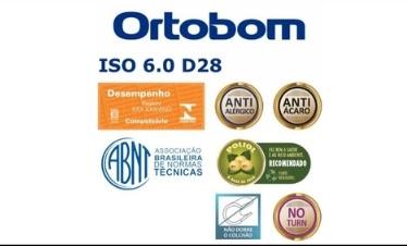Colchão Ortobom Iso 60 D28 1,38 x 1,88