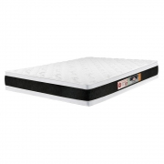 Colchão Casal Black & White Air D45 Double Face 138x188x27cm