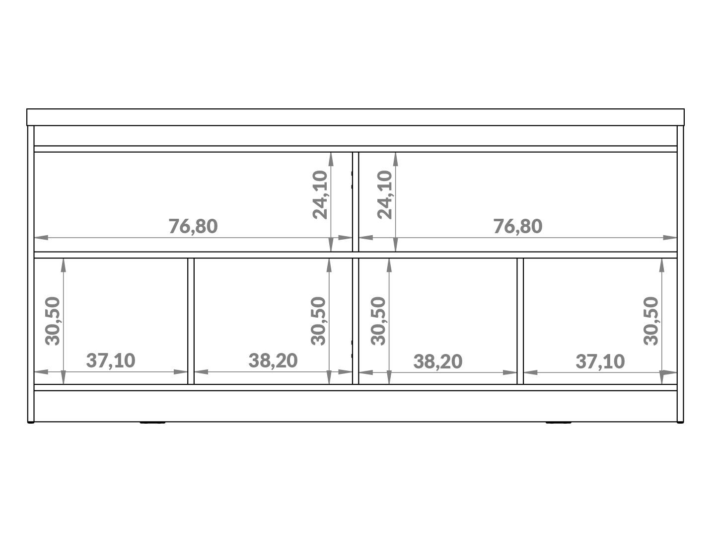 Buffet Provincia Truzzi Off White 1,6m