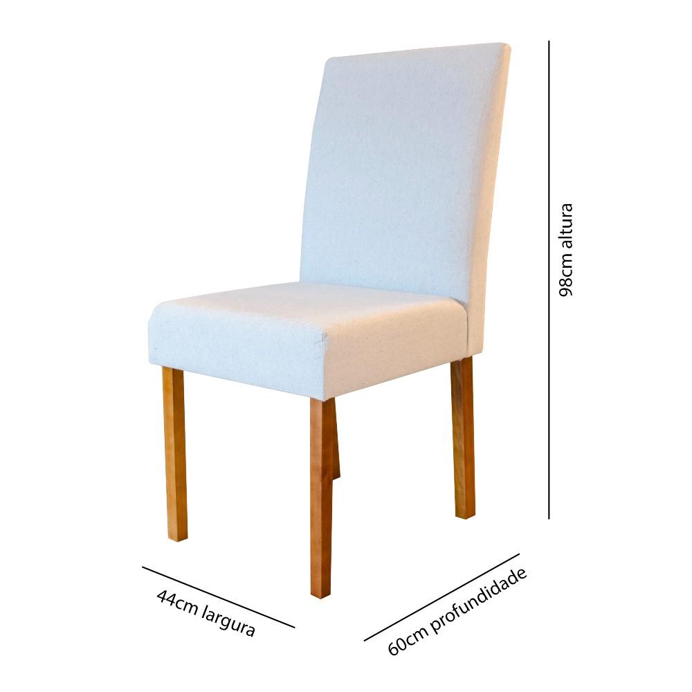 Cadeira Lara Minas Imbuia Tec 303 / Madeira Maciça