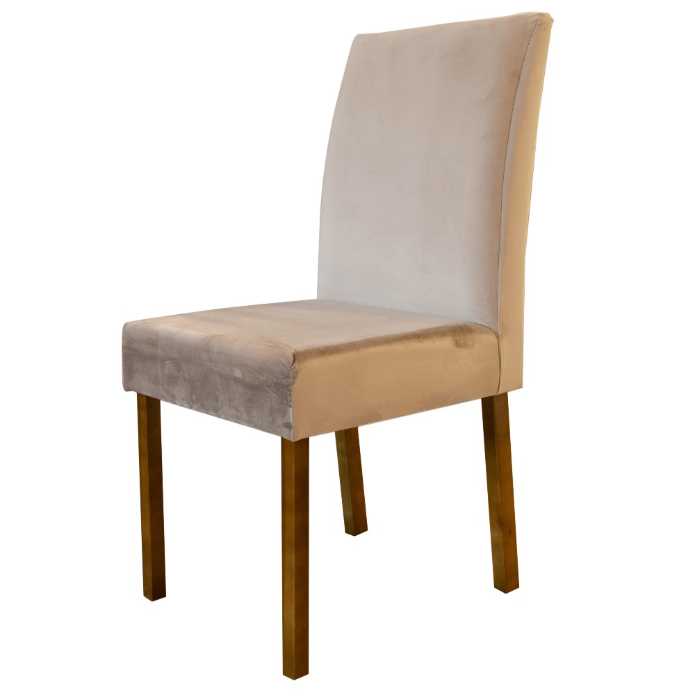 Cadeira Lara Minas Sued Tec 402 / Madeira Maciça