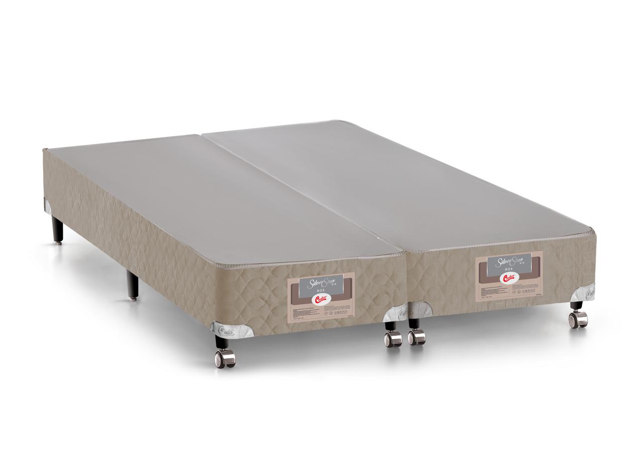 Cama Box King Castor Silver Star AIR Pocket 193x203x27cm