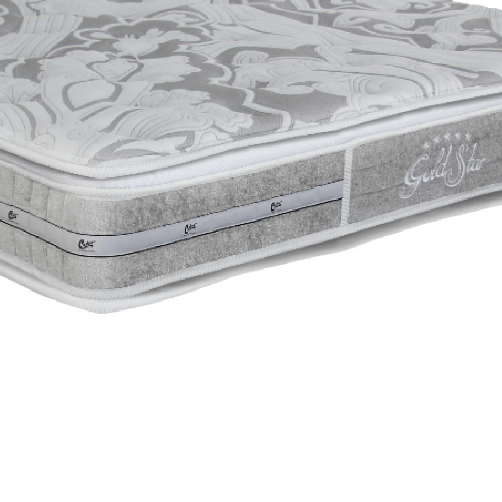 Colchão Casal Castor Gold Star Super Luxo Látex 138x188x30cm