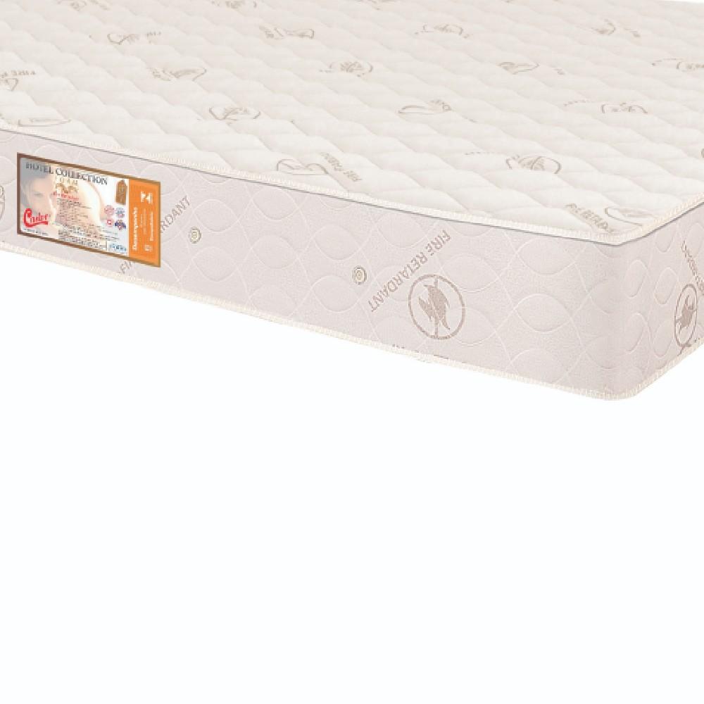 Colchão Casal Castor Hotel Collection Fire Retardant Sem Pillow Top 138x188x25