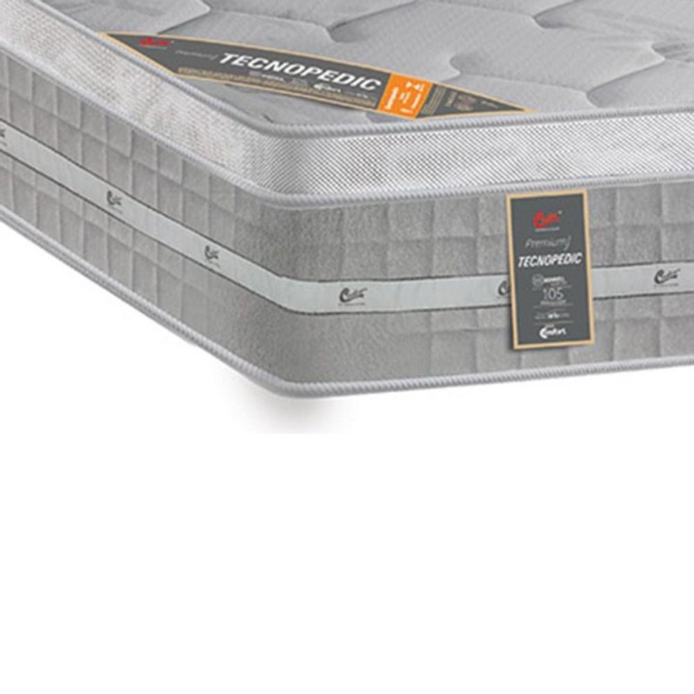Colchão Casal Castor Premium Gel One Face 138x188x32cm
