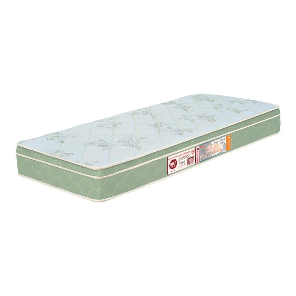 Colchão Solteiro De Espuma Sleep Max D33 88x188x15cm