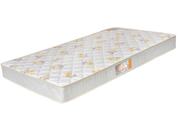 Colchão Solteiro De Espuma Sleep Max Liso D28 78x188x14