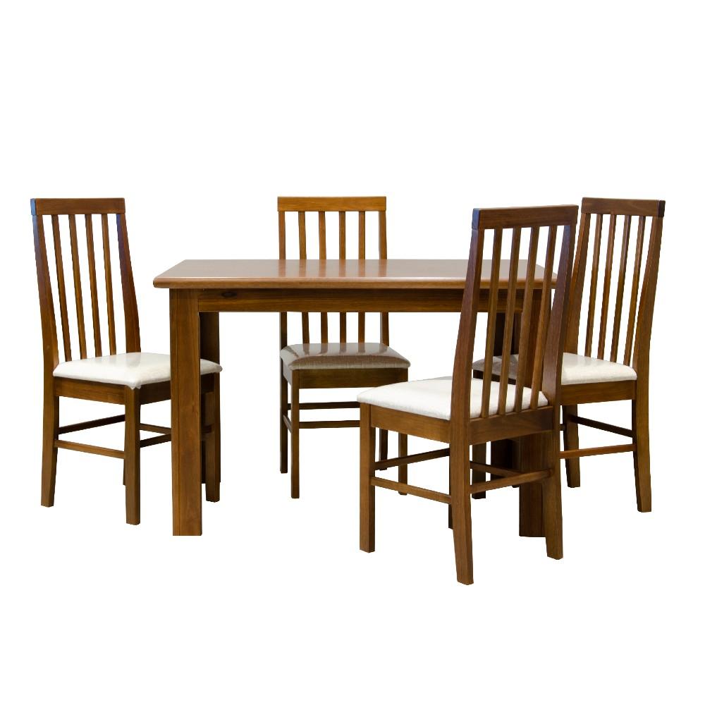 Conjunto Mesa Requinte Matté Com 6 Cadeira Milena