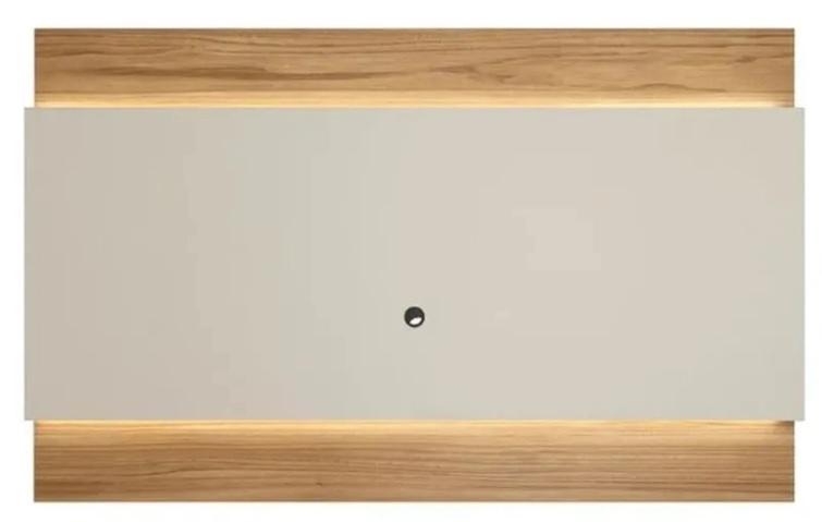 Painel Lincoln Provincia Off White Com Cinamomo 2,2m