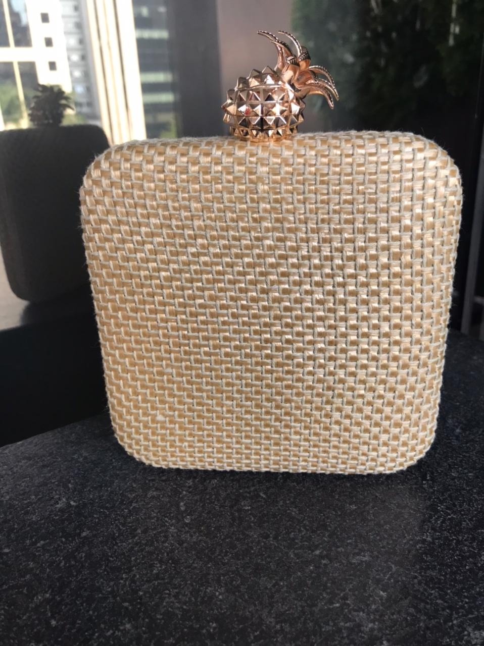 Clutch Abacaxi Nude