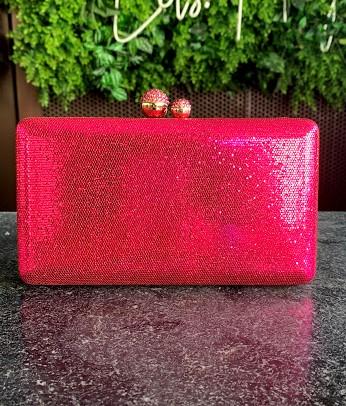 Clutch Brilho Pink
