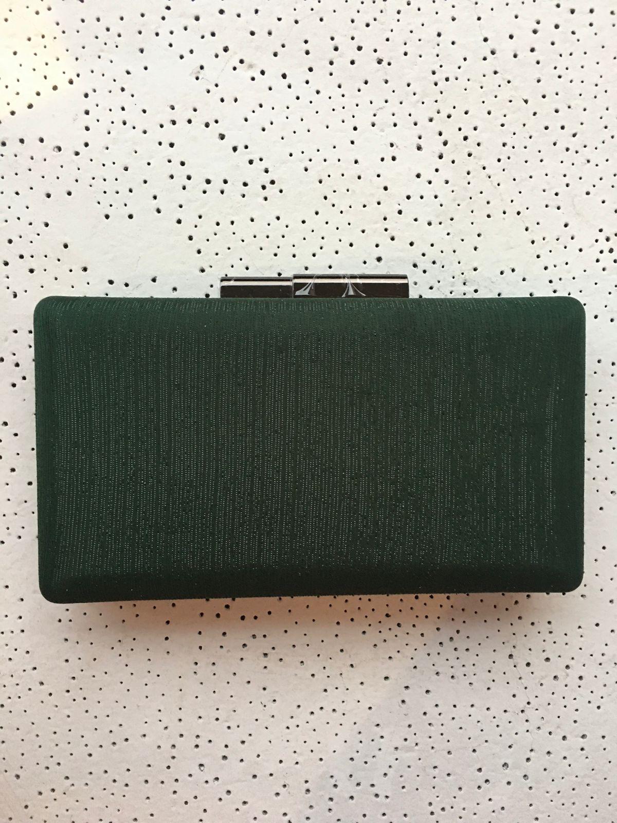 Clutch Brilho Verde