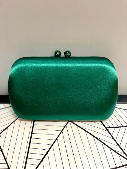Clutch Cetim Verde
