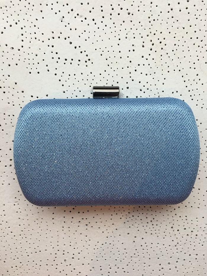 Clutch Sparkle Azul