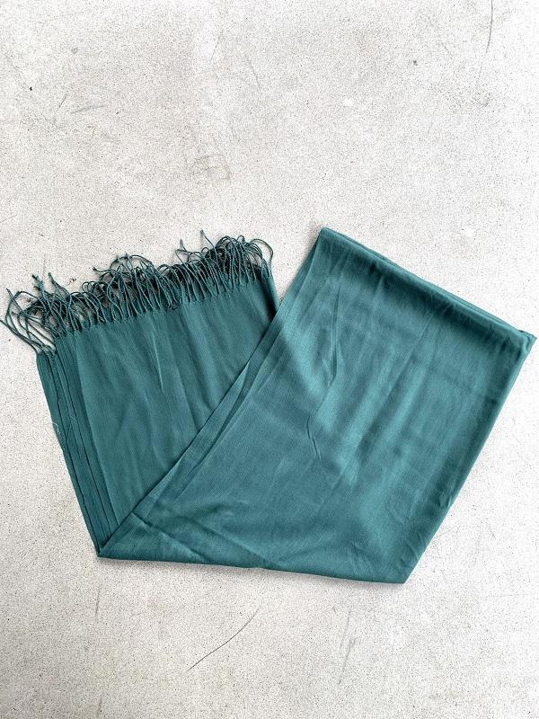 Pashmina Verde Bandeira