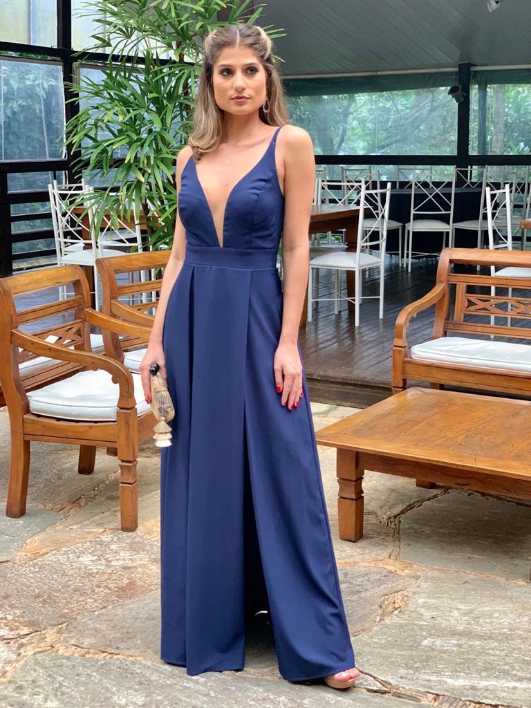 Vestido Acapulco Azul Marinho