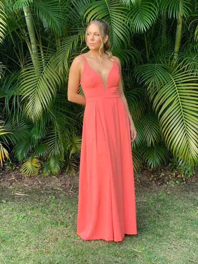 Vestido Acapulco Coral