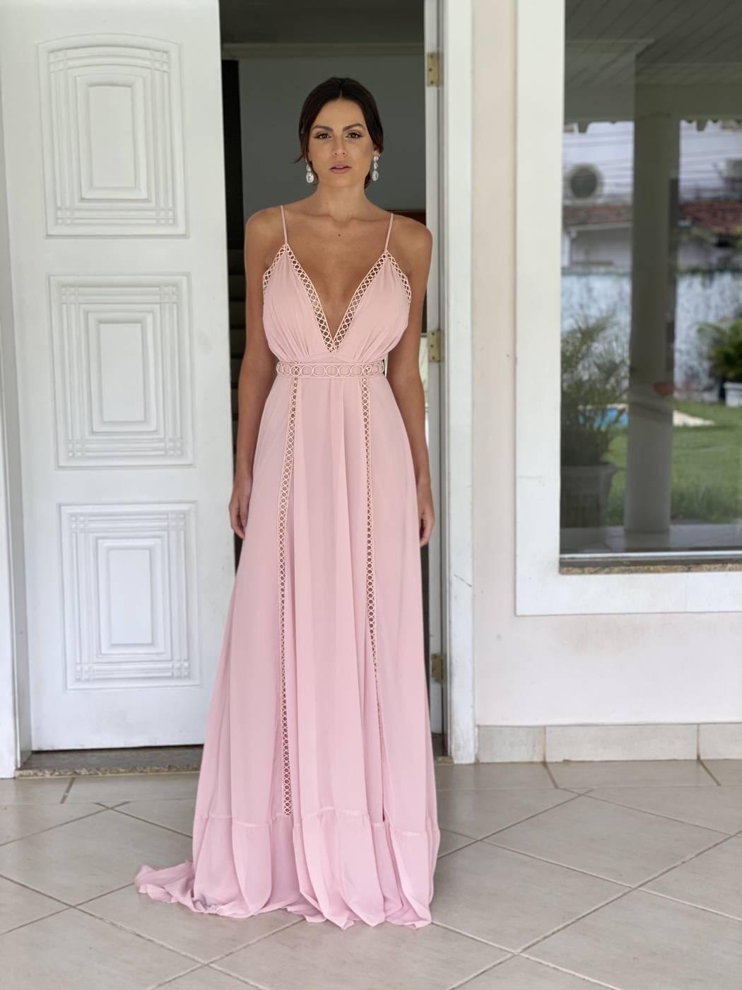 Vestido Angra Rosé