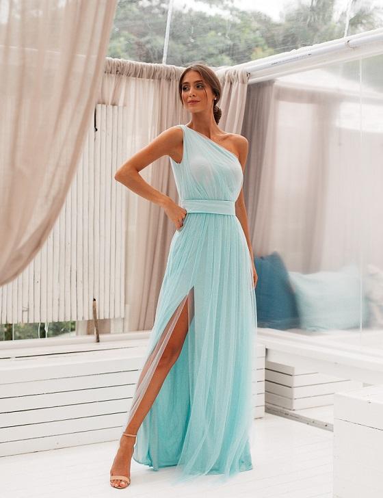 Vestido Arendel Tule Menta