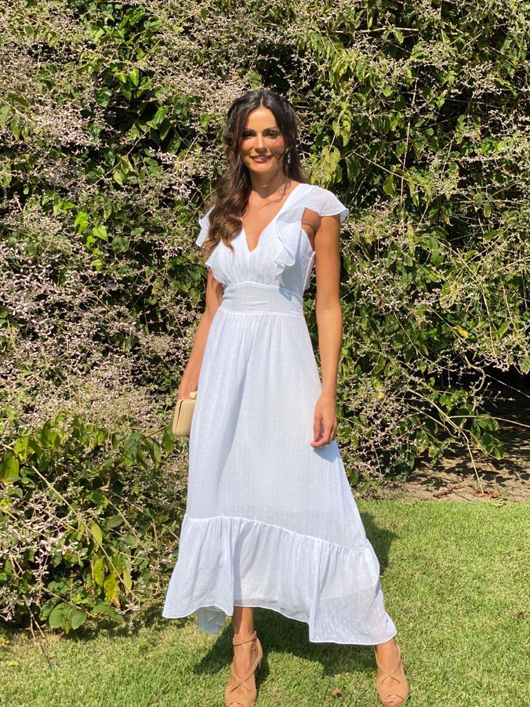 Vestido Argentina Branco