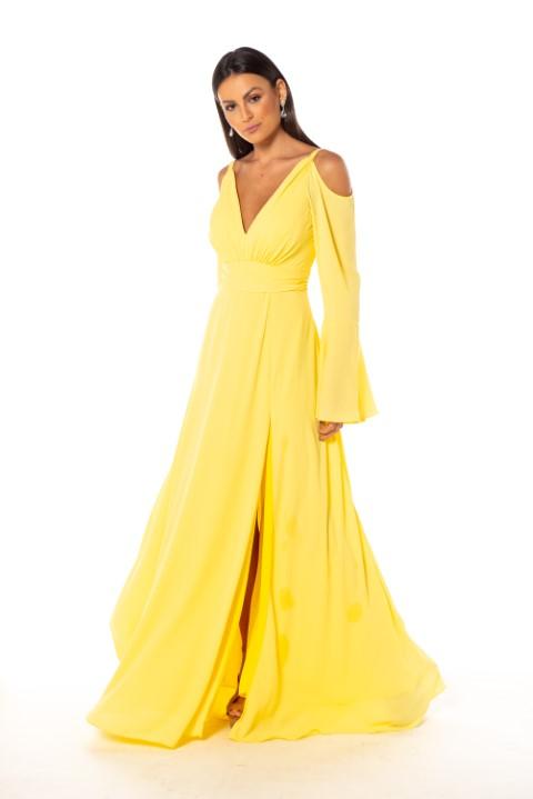 Vestido Atlanta Amarelo