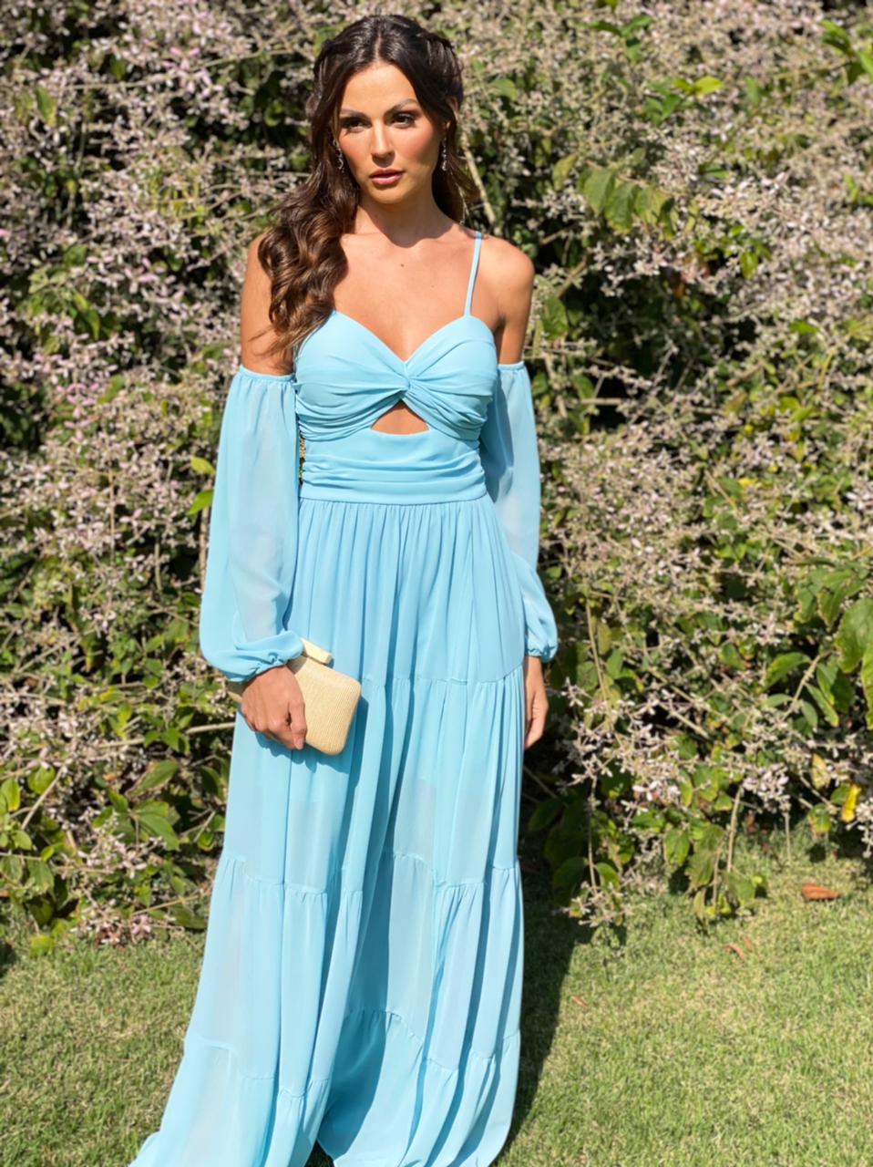Vestido Australia Azul Serenity