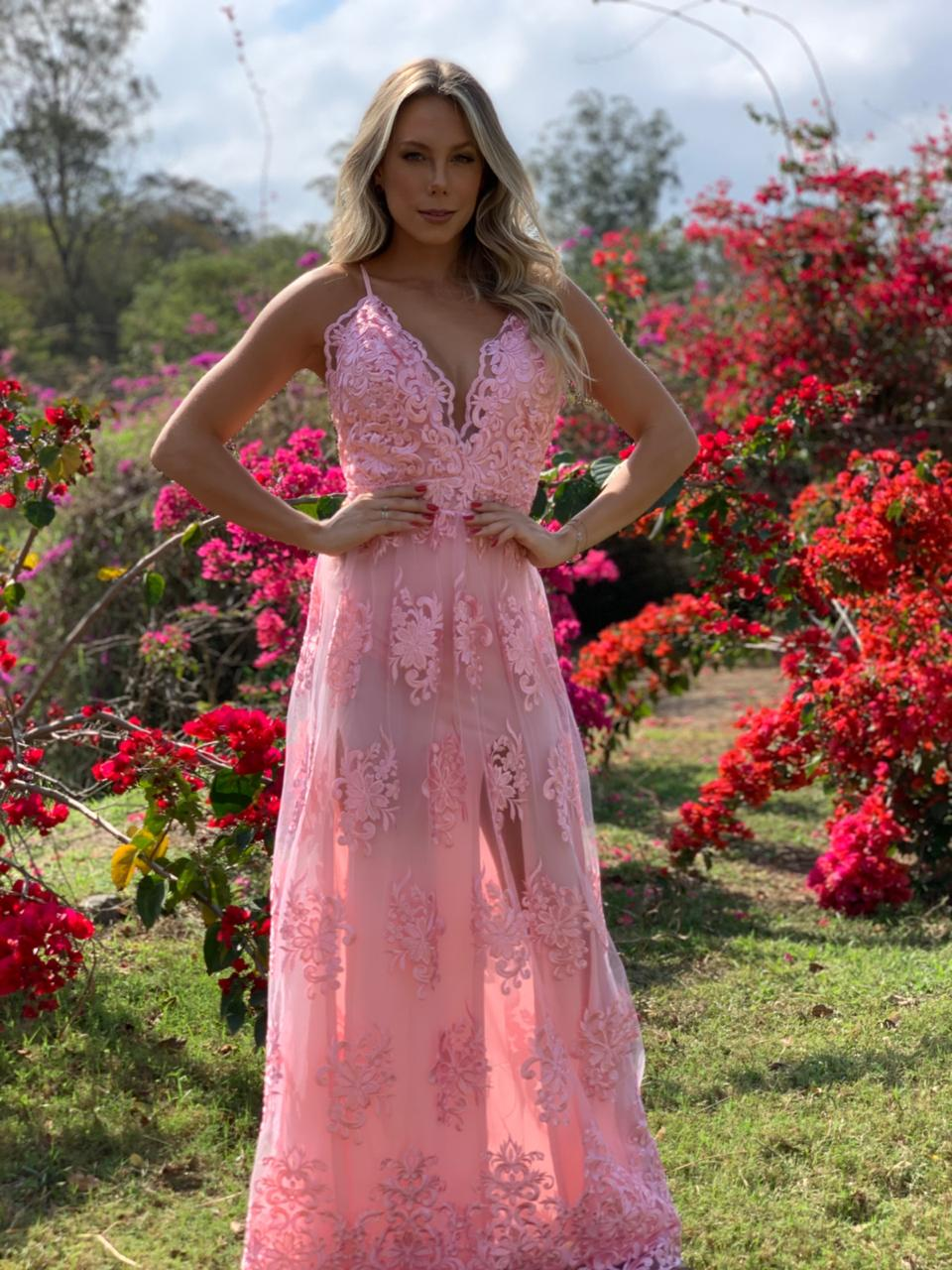 Vestido Bahia Rose