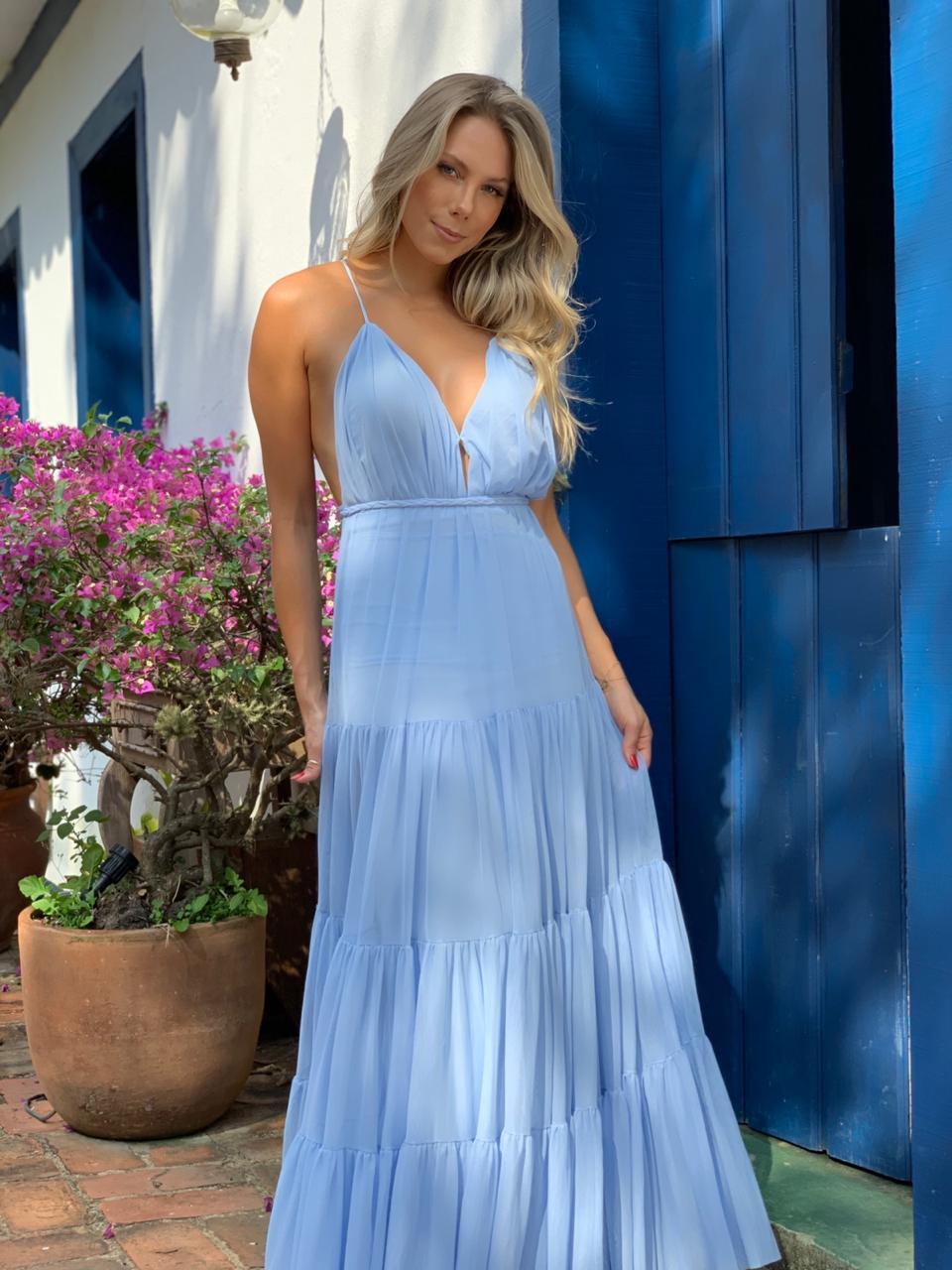 Vestido Bali Azul Serenity