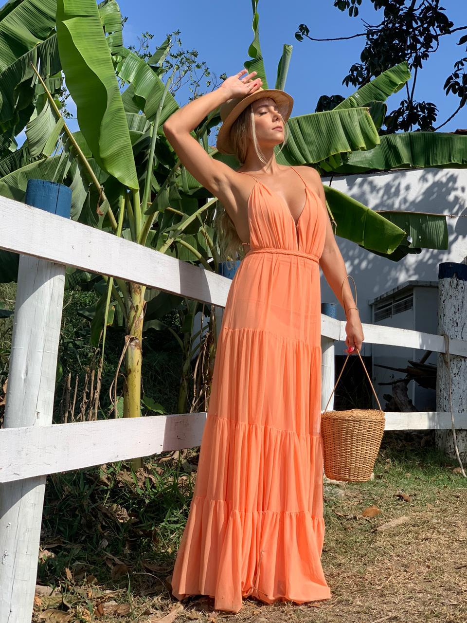 Vestido Bali Coral
