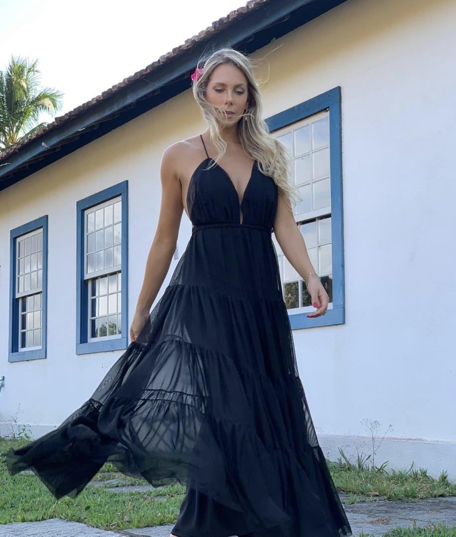 Vestido Bali Preto