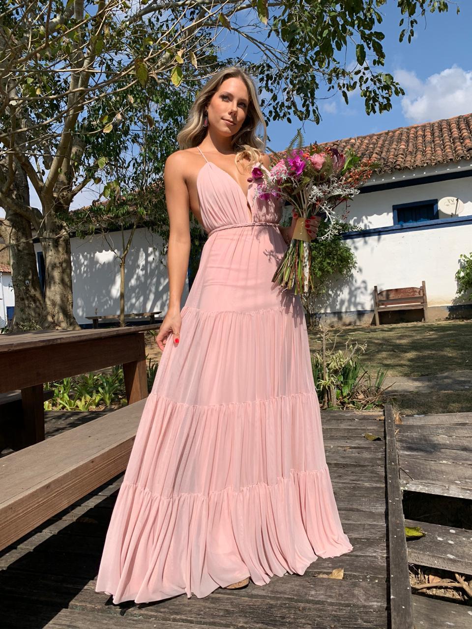 Vestido Bali Rosé