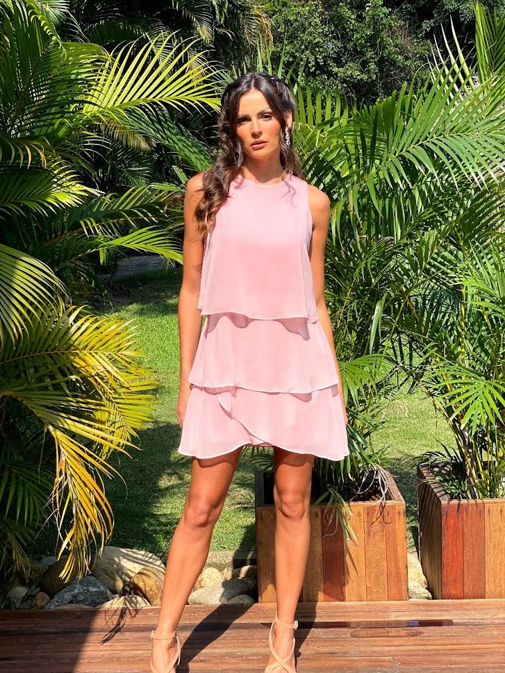 Vestido Califórnia Rosé