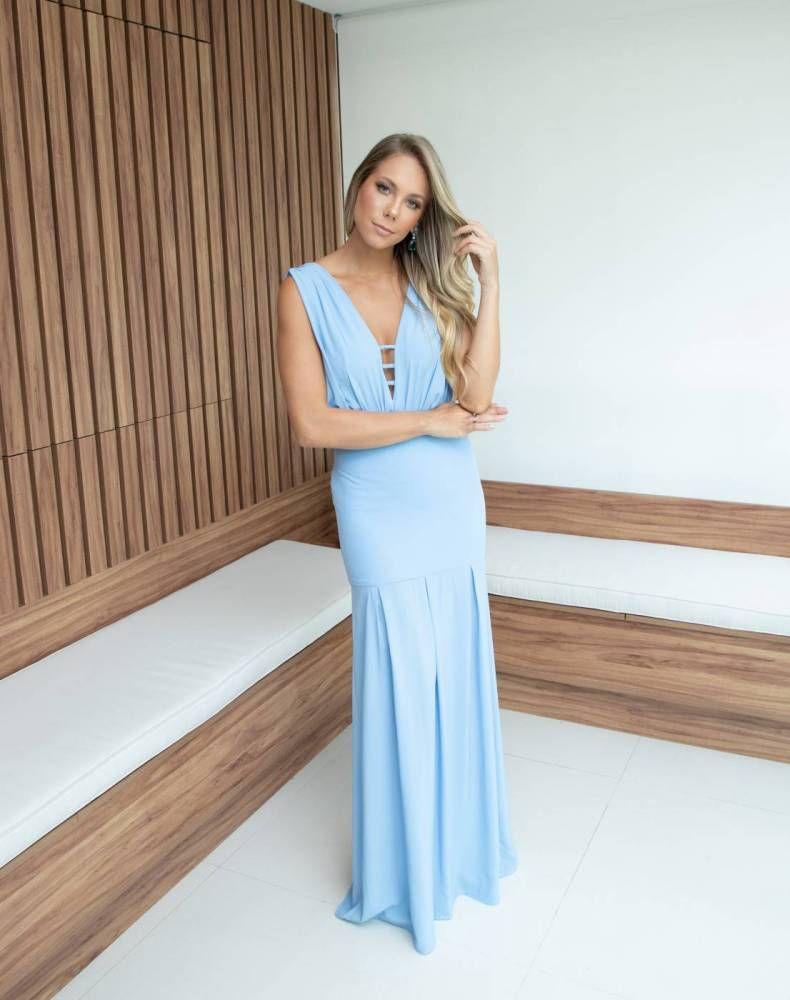 Vestido Cancún Azul Serenity