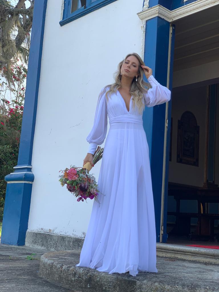 Vestido Cannes Branco