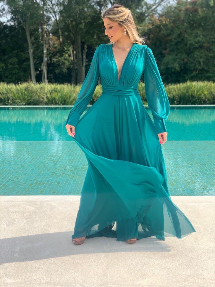 Vestido Cannes Jade