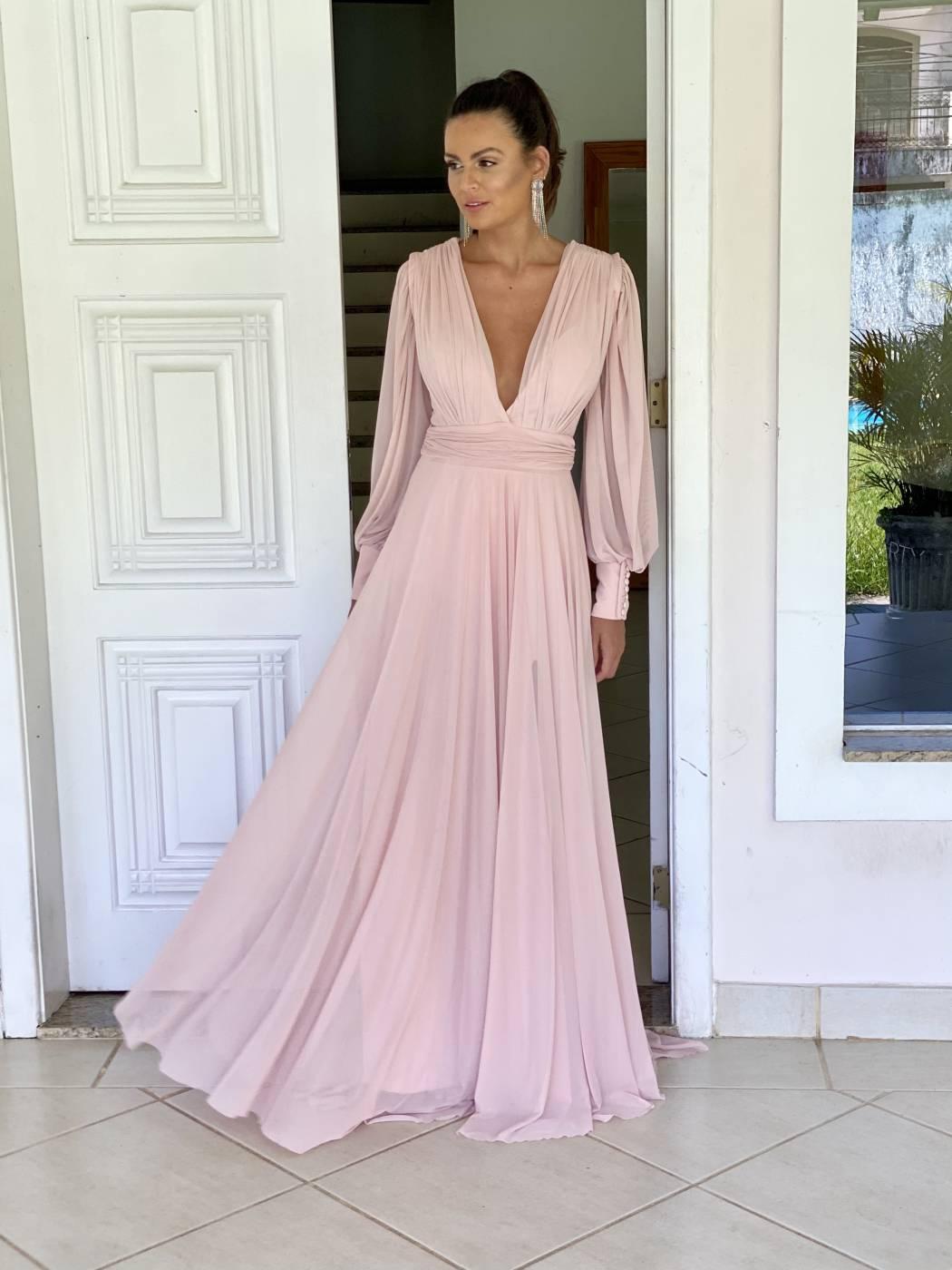 Vestido Cannes Rosé