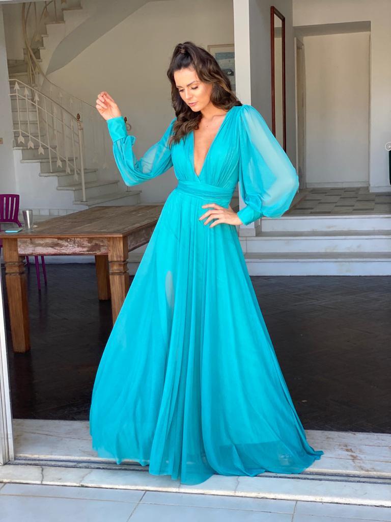 Vestido Cannes Tiffany