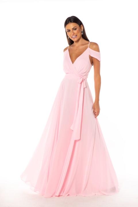 Vestido Chicago Rosé