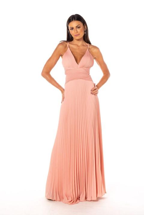 Vestido Córdoba Rosé
