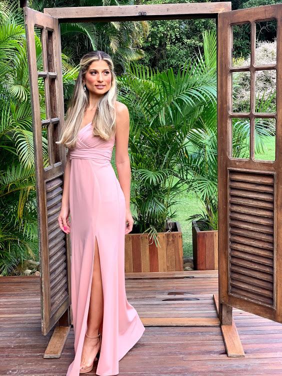 Vestido Costa Rica Rosé