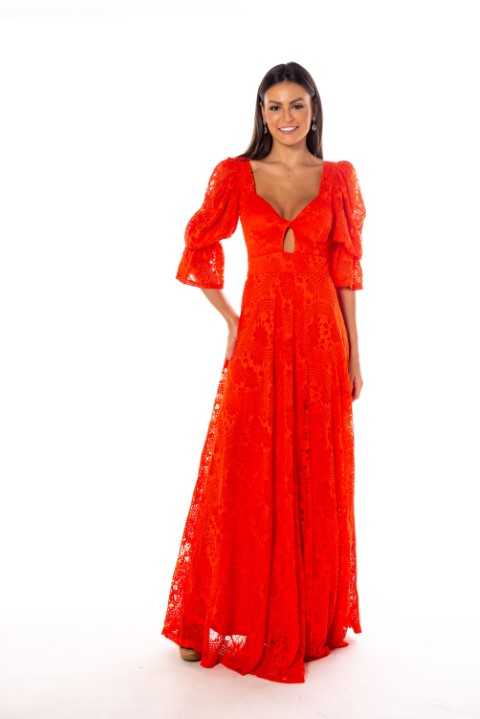 Vestido Dallas Coral
