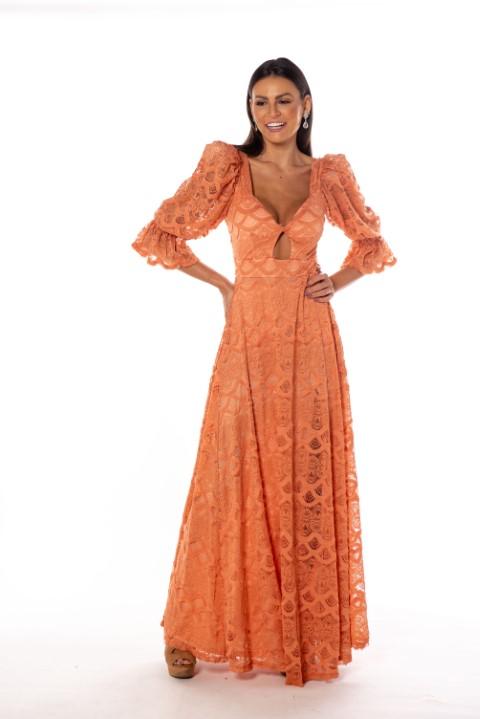 Vestido Dallas Rosa Canela