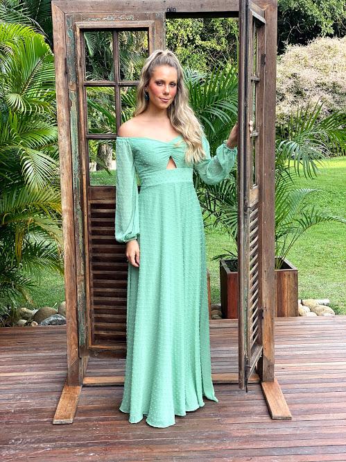 Vestido Filipinas Verde Menta