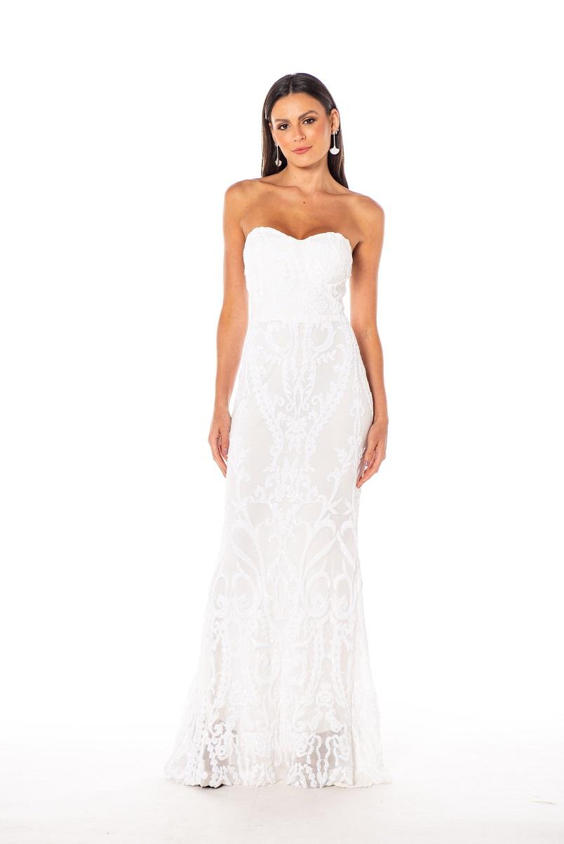 Vestido França Branco