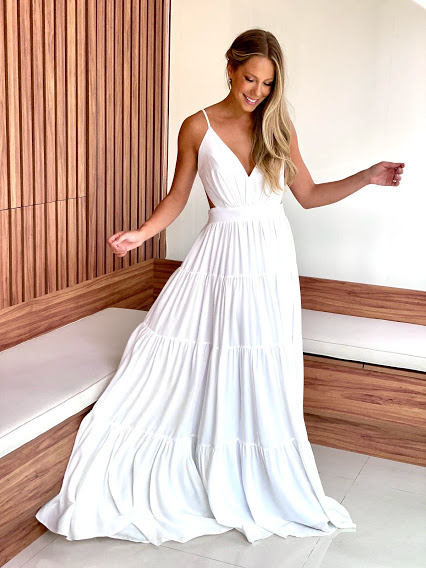 Vestido Gold Coast Branco