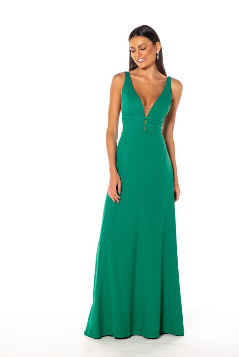 Vestido Grecia Verde