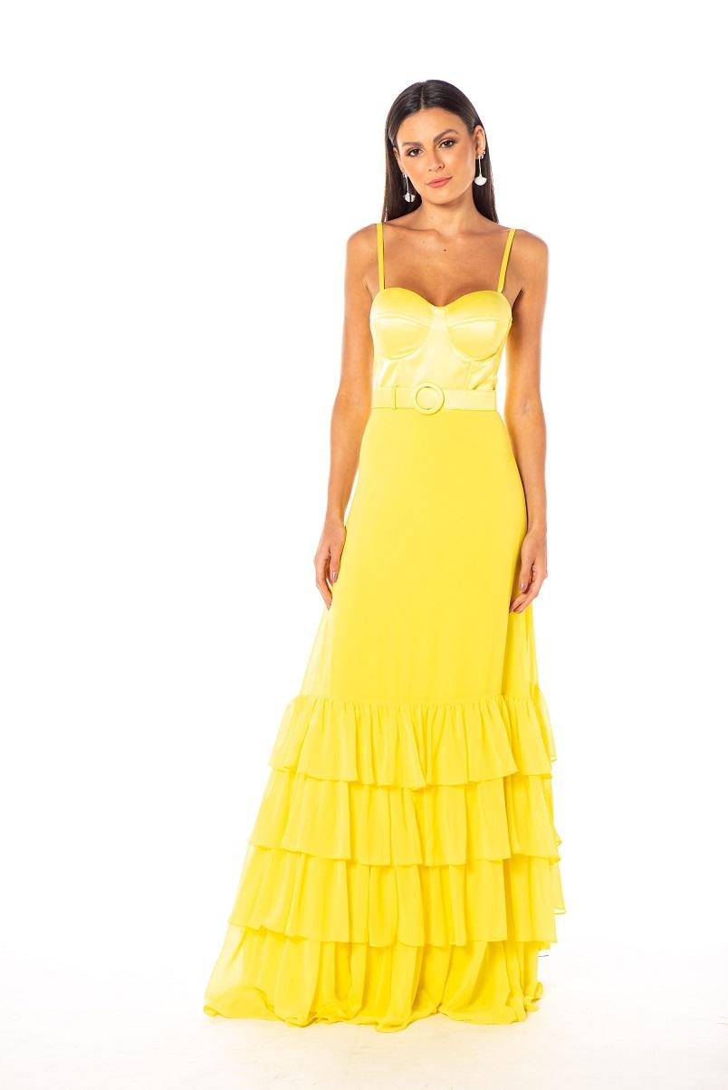 Vestido Holanda Amarelo